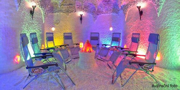 Relaxační pobyt v solné jeskyni