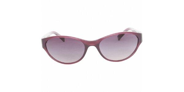 Dámské tmavě fialové sluneční brýle Calvin Klein