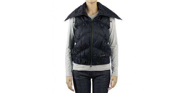 Dámská černá péřová vesta Calvin Klein