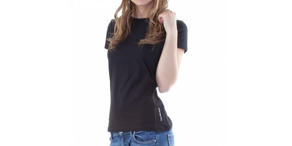 Dámské černé tričko Calvin Klein