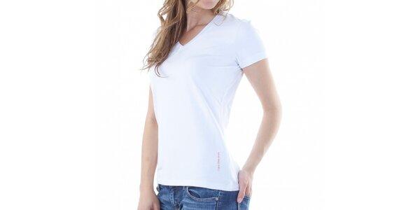 Dámské bílé tričko Calvin Klein