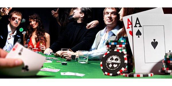 Škola Texas hold'em pokeru včetně vstupu na turnaj
