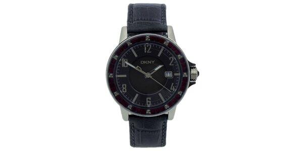 Pánské analogové hodinky s krystaly DKNY