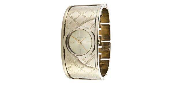 Dámské náramkové hodinky s logem DKNY
