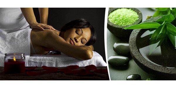 Neviditelná relaxační nebo osvěžující masáž v délce 60 minut