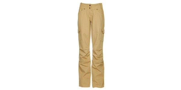 Dámské béžové kalhoty Bushman