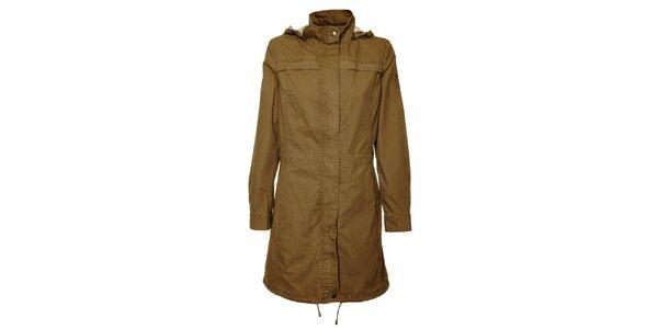 Dámský hnědý kabátek Bushman