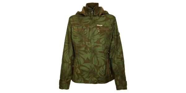 Dámská khaki bunda Bushman