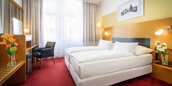 Secesní hotel na pražském Žižkově se snídaní