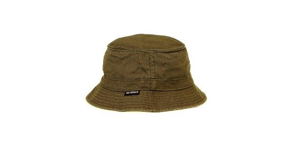 Pánský olivově zelený klobouk Bushman