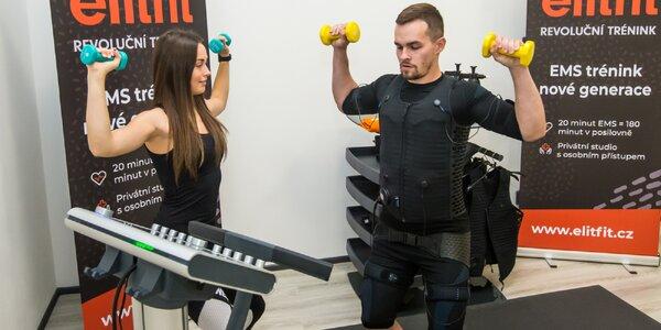 EMS trénink: revoluční forma cvičení i s trenérem