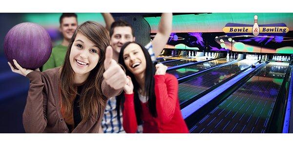 Hodina bowlingu v Bowle&Bowling