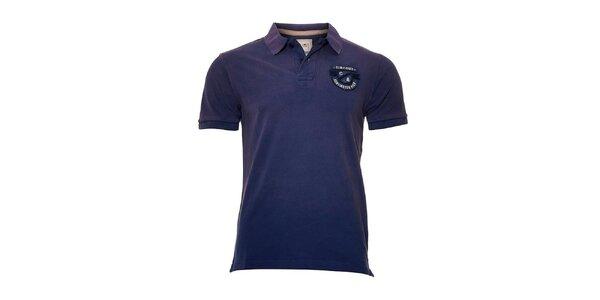 Pánské polo tričko Timeout v modrofialové barvě