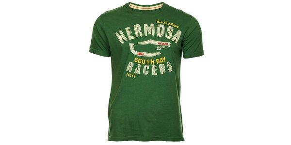 Pánské zelené tričko Timeout