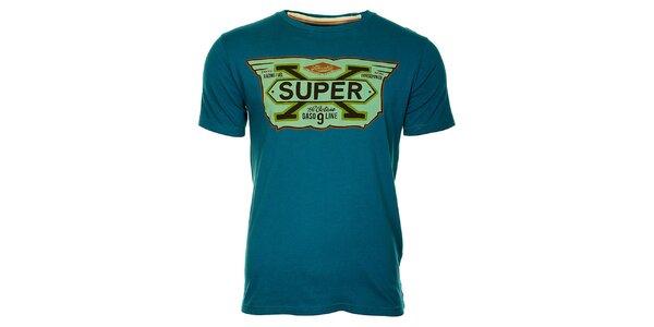 Pánské modré tričko Timeout