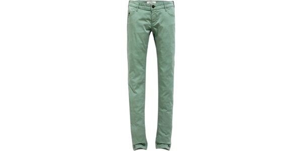 Dámské světle zelené skinny džíny Timeout 753278586e