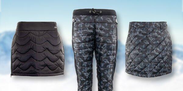 Zateplené dámské kalhoty a sukně Alpine Pro
