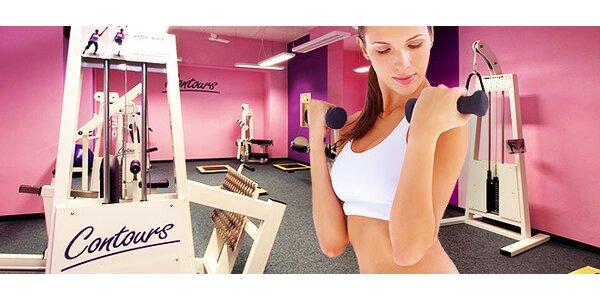 Měsíční členství v Contours fitness pro ženy