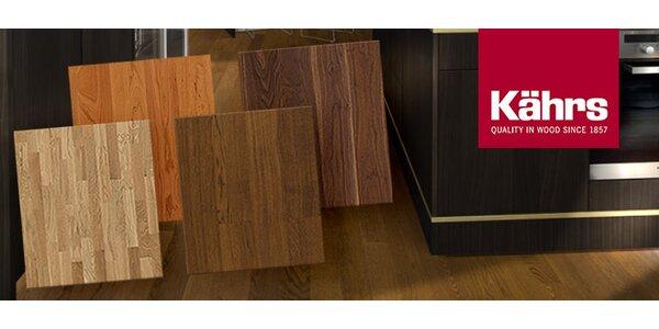 Vysoce kvalitní dřevěné podlahy Kährs