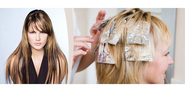 Melír a kompletní sestřih na všechny délky vlasů