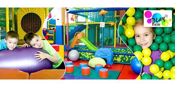 Celé dopoledne v dětském centru Play Factory