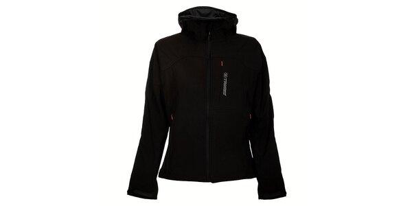 Dámská černá softshellová bunda Trimm Berga