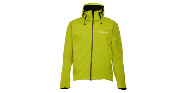 Dámská zelená silnější outdoorová bunda Trimm
