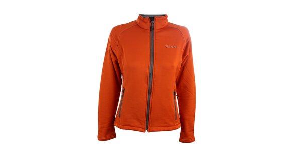 Dámská oranžová softshellová bunda Trimm