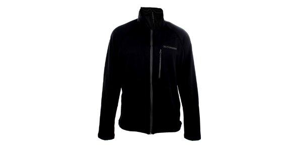Pánská černá softshellová bunda Trimm