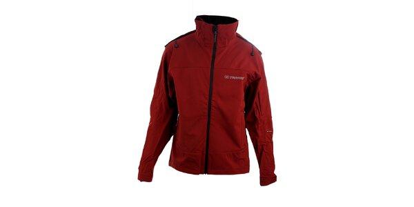 Pánská červená softshellová bunda Trimm