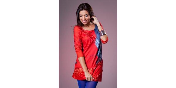 Dámské rudé šaty Culito from Spain