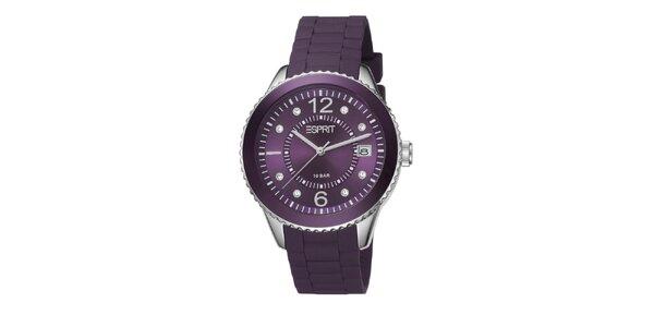 Dámské fialové hodinky Esprit