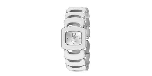 Dámské náramkové hodinky Esprit ve stříbrné barvě