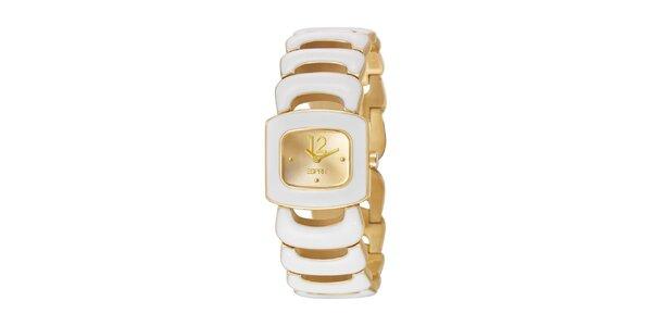 Dámské náramkové hodinky Esprit ve zlaté barvě