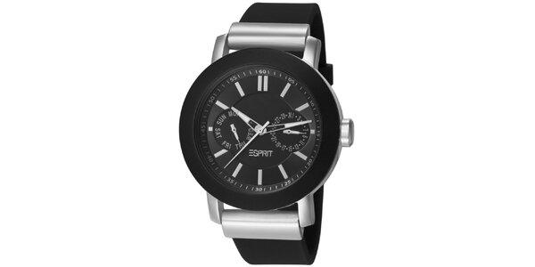 Dámské černé analogové hodinky Esprit