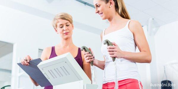 Měření na přístroji InBody a 2-6 vstupů do fitness