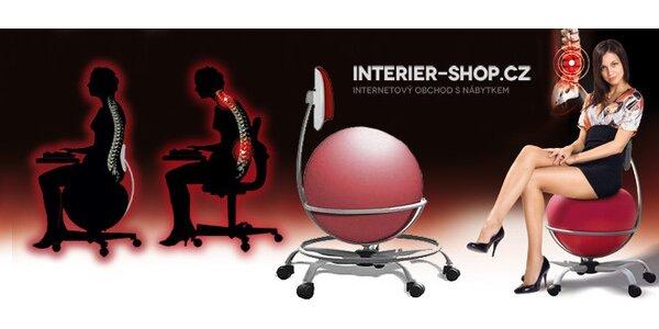 Balonová židle – pro správné držení těla