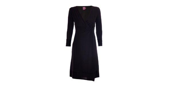 Šaty se zajímavým detailem značky Hope 1967 v černé barvě
