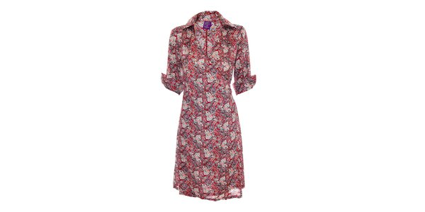 Zavinovací šaty značky Hope 1967 se vzorem