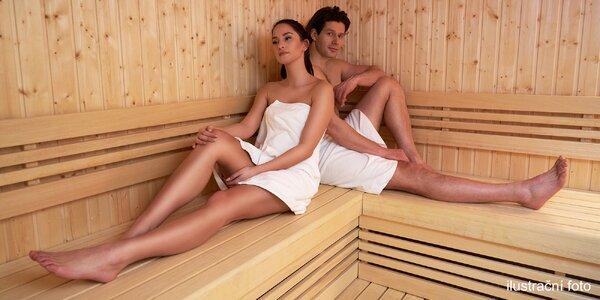 Až 120 min. v privátní sauně i se sektem pro 2 osoby
