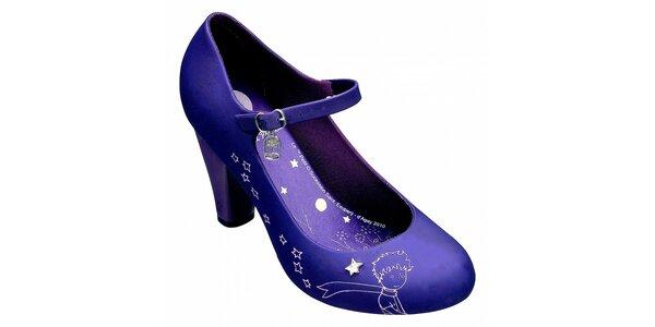 0cc7d1f2730 Dámské fialové lodičky Melissa s Malým princem