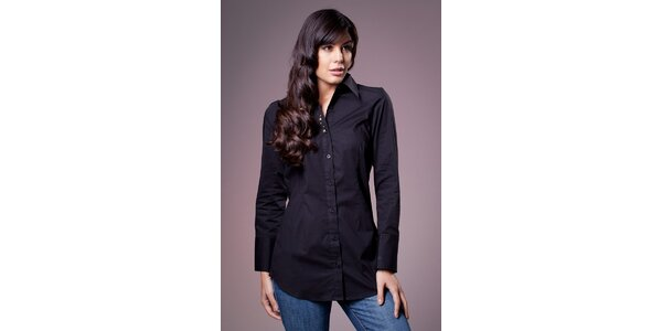 Dámská černá košile Ada Gatti