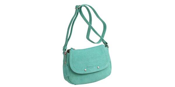Dámská zelená kabelka přes rameno Fuchsia