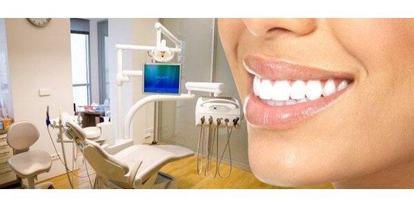 Bělení zubů pro dospělé nebo pečetění fisur pro děti