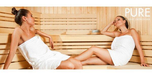 Soukromá sauna s rituálem pro 1 až 4 osoby (70 či 90 min)