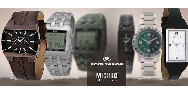 Hodinky Tom Tailor či Mustang pro ženy i muže 5a3e0d27b7