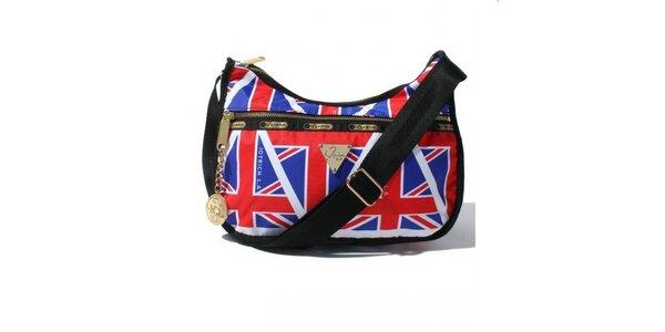 Městská taška s motivem anglické vlajky