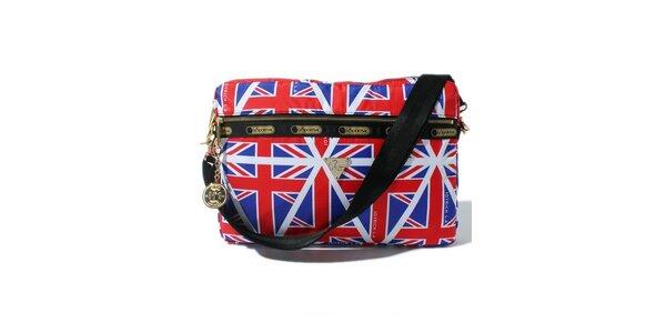 Taška na laptop s motivem anglické vlajky