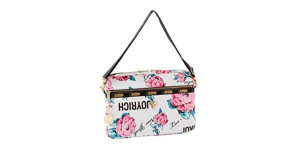 Taška na laptop s motivy růží