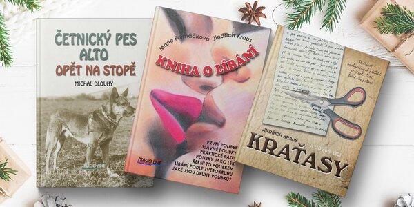 Kniha o líbání, zábavné Kraťasy a další tituly